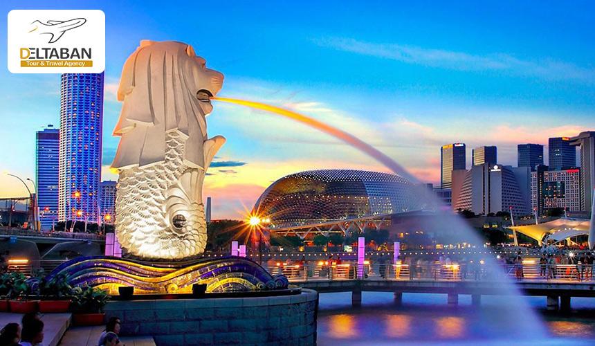 نمایی زیبا از سنگاپور
