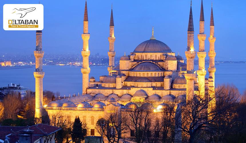 تصویری از مسجد آبی استانبول