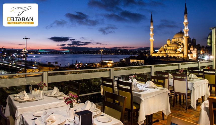تصویری از رستوران در استانبول