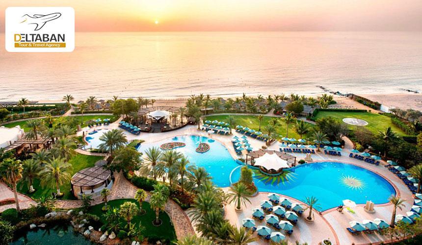 نمایی حیرت انگیز از هتل له مردین دبی