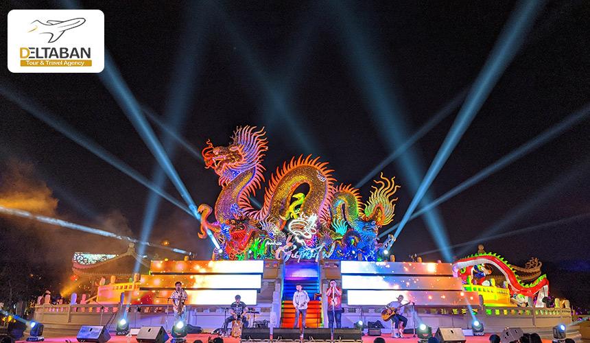 تصویری از یکی از فستیوال های تایلند