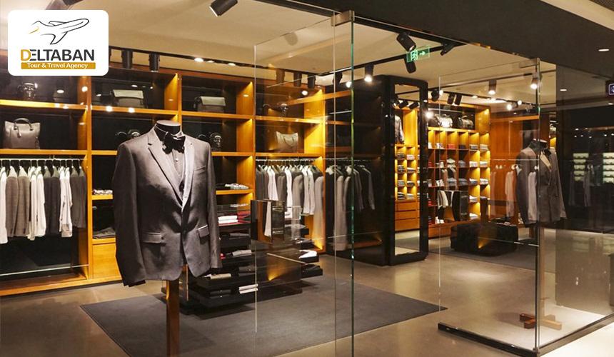 تصویری از فروشگاه لباس مردانه در استانبول
