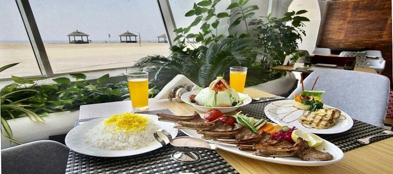 صبحانه هتل ترنج کیش