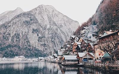 اتریش در زمستان
