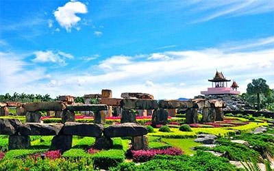 تصویری زیبا از باغ گرمسیری نونگ نوچ