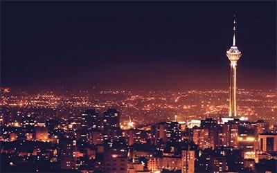 تصویری زیبا از برج میلاد تهران