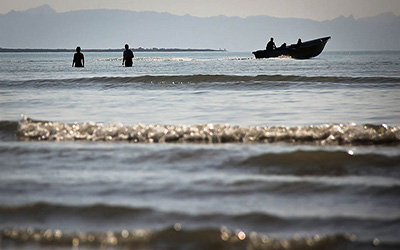 دریای زیبای بندرعباس