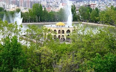 نمایی زیبا از آثار تاریخی تبریز