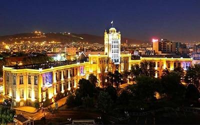 نمای از شهر زیبای تبریز