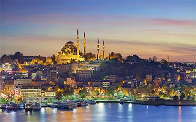 تصویری از ساحل کشور ترکیه