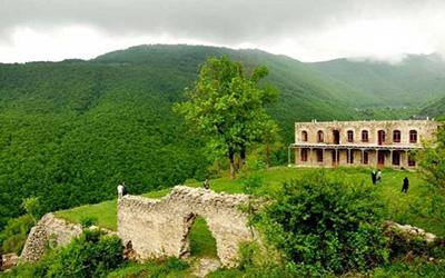 نمایی زیبا از طبیعت تبریز