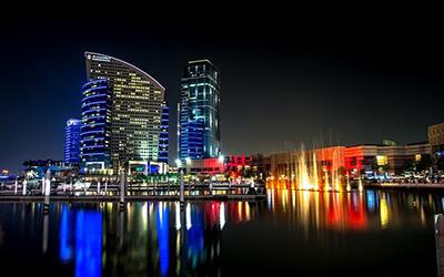 نمایی از شهر دبی