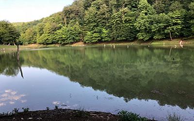 دریاچه چورت در ساری