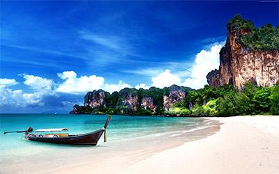 تصویری از ساحل جزیره پوکت در تایلند