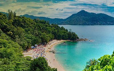 تصویری زیبا از ساحل رایلی پاتایا