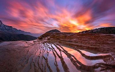 تصویری زیبا از طبیعت ساری