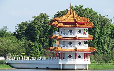 نمایی از آثار تاریخی سنگاپور