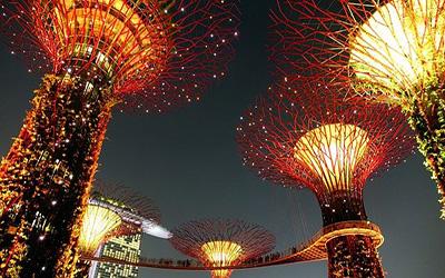 نمایی از آثار جالب سنگاپور