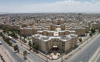 تصویری زیبا از نمای شهر زاهدان