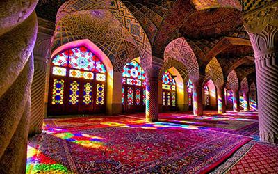 نمایی اثار تاریخی شیراز