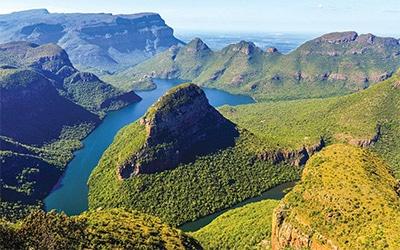 تصویری از طبیعت زیبای آفریقای جنوبی