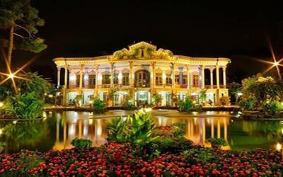 نمایی از عمارت شاپوری شیراز