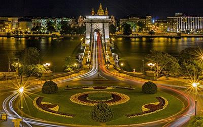 نمایی زیبا از پارک مجارستان