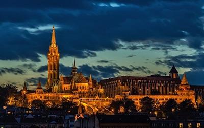 نمایی از شب مجارستان