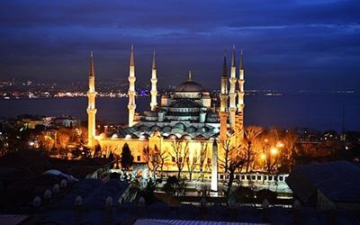 مسجد آبی در ترکیه