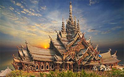 معبد حقیقت در پاتایا