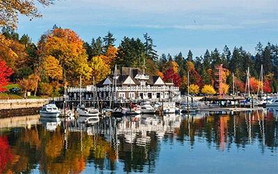 تصویری از منظره زیبای ونکوور