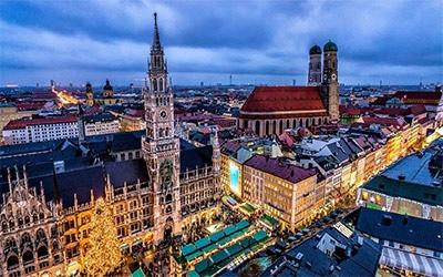 تصویری از شهر مونیخ در آلمان