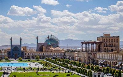 نمای میدان نقش جهان در اصفهان
