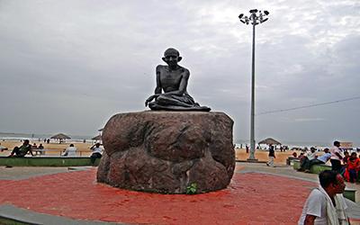 مقبره گاندی در هند