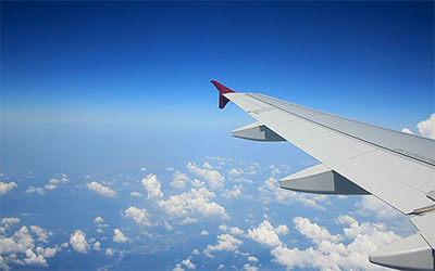 تصویری از داخل هواپیما
