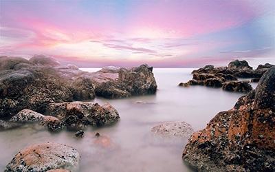 نمایی زیبا از آب های ویتنام