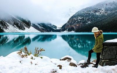 طبیعت برفی کانادا