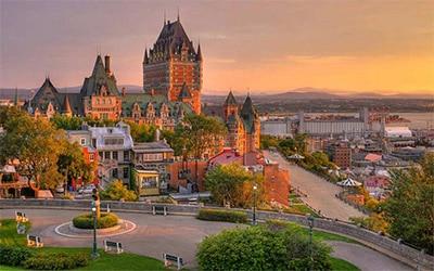 تصویر زیبای کبک در کانادا