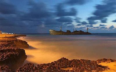 تصویری از دریای زیبای کیش
