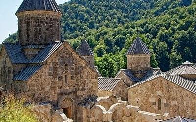 نمایی زیبا از خانه های کشور ارمنستان