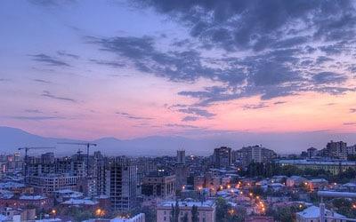 نمایی از شب های ارمنستان