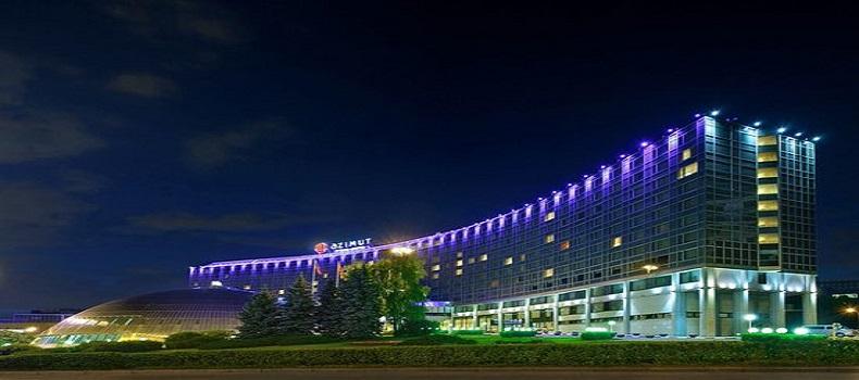 نمایی از هتل Azimut Olympic