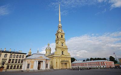 قلعه پتر و پال در روسیه