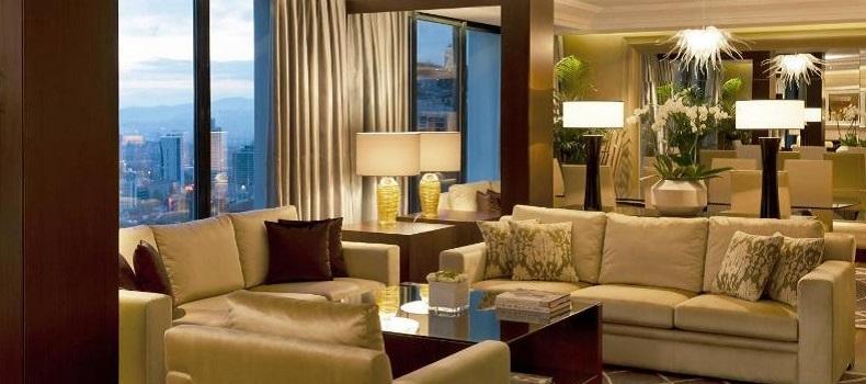 اتاق نشیمن هتل Lugal Sheraton