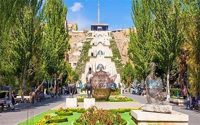 نمای یکی از پارک های مشهور ارمنستان