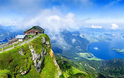 عکسی از کوه های اتریش