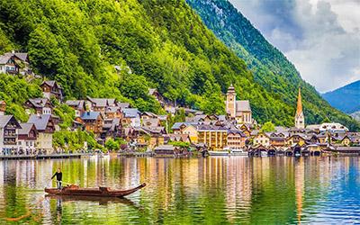 نمای طبیعت زیبا و دلنشین اتریش