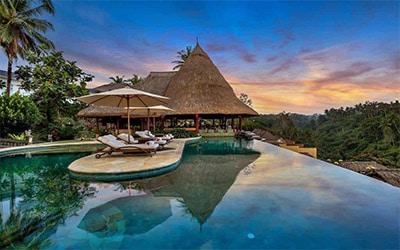 تصویر یکی از زیباترین بخش های جزیره بالی در کشور اندونزی