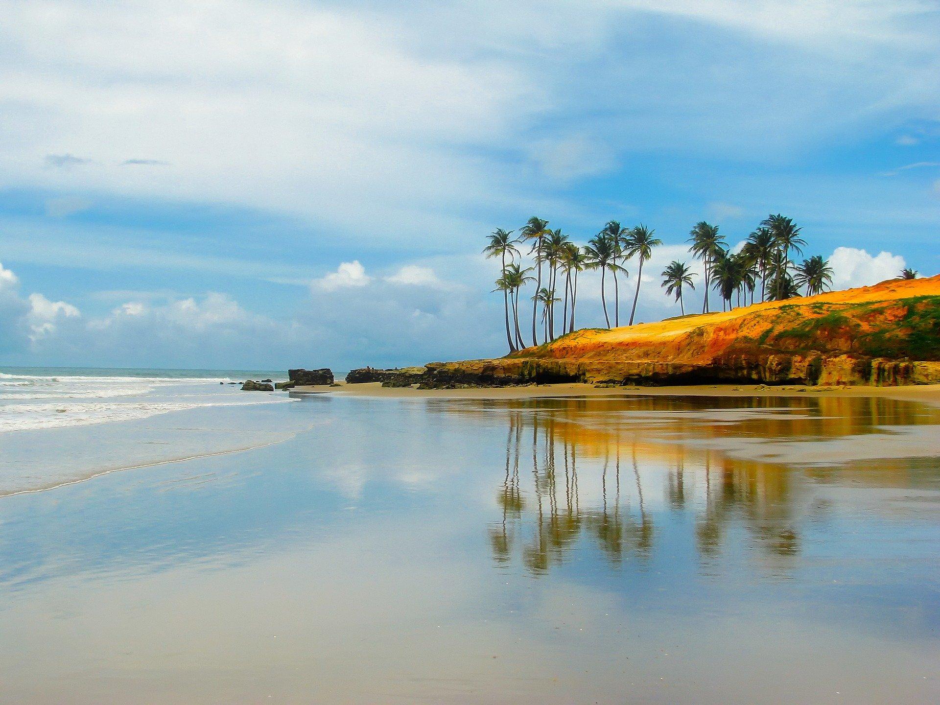 ساحلی زیبا در برزیل