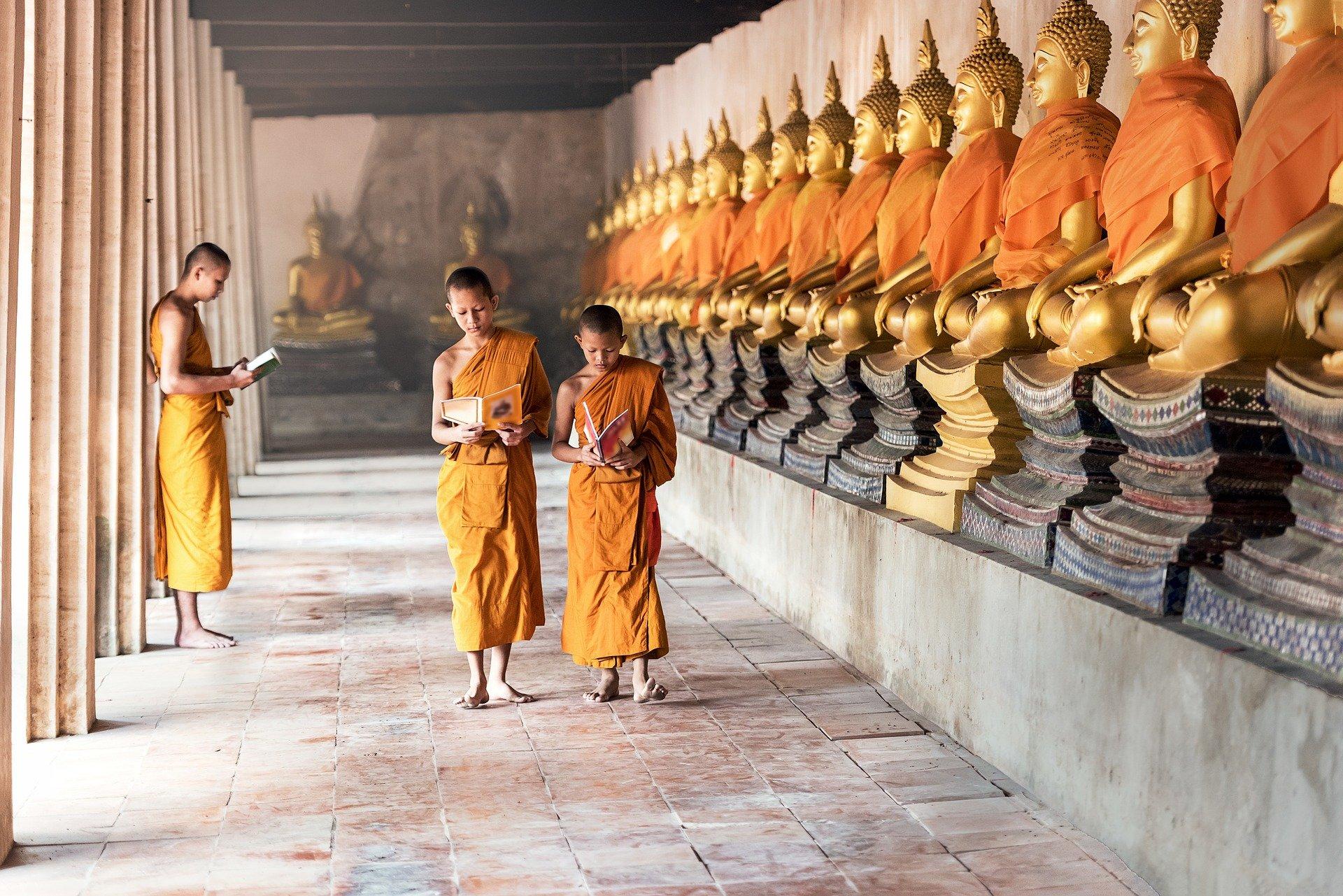 نمایی از بودائیسم